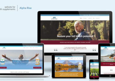 Website-design - Alpha Rise