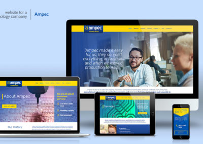 Website-design - Ampec