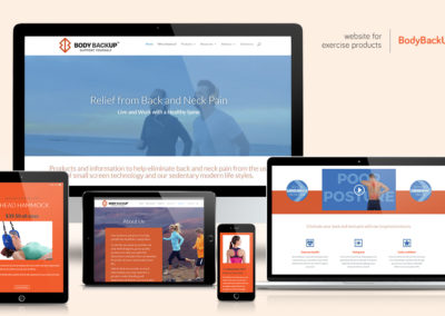 Website-design - BodyBackUp