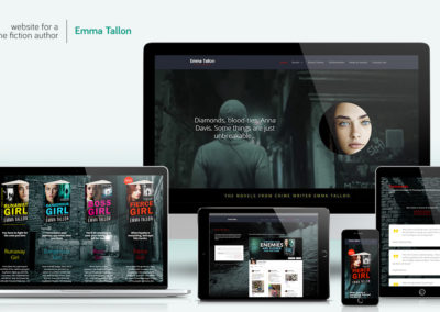 Website-design - Emma Tallon, author