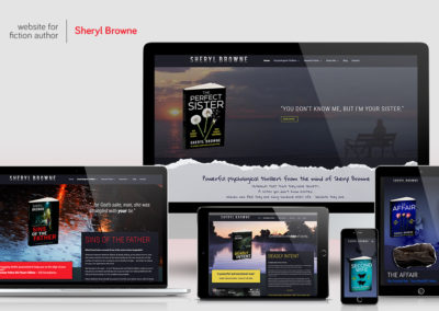 Website-design - Sheryl Browne
