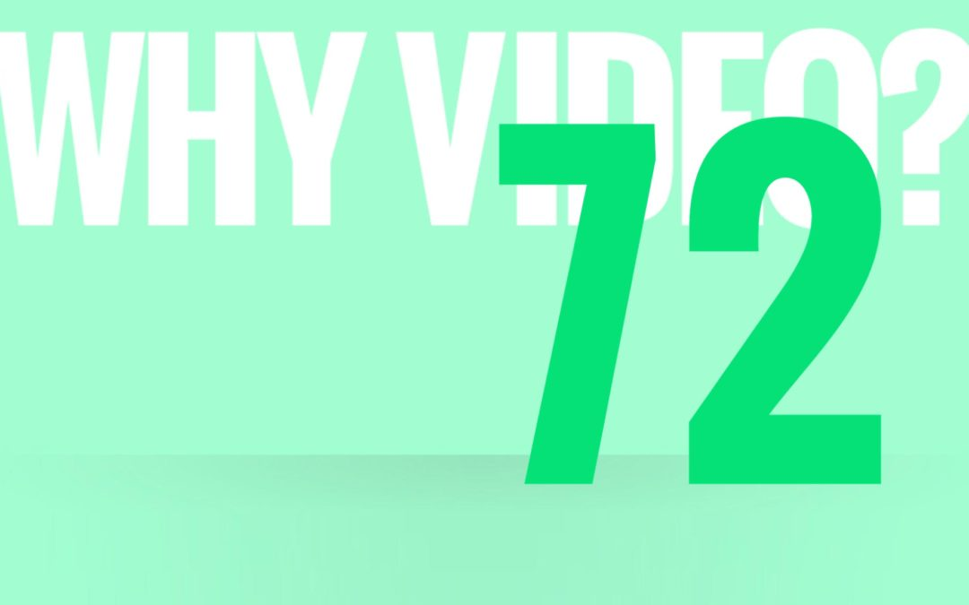 Why use video? 2