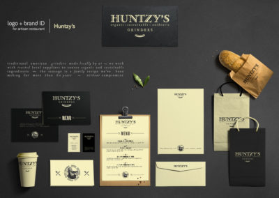 Logo design + Brand ID for an artisan restaurant