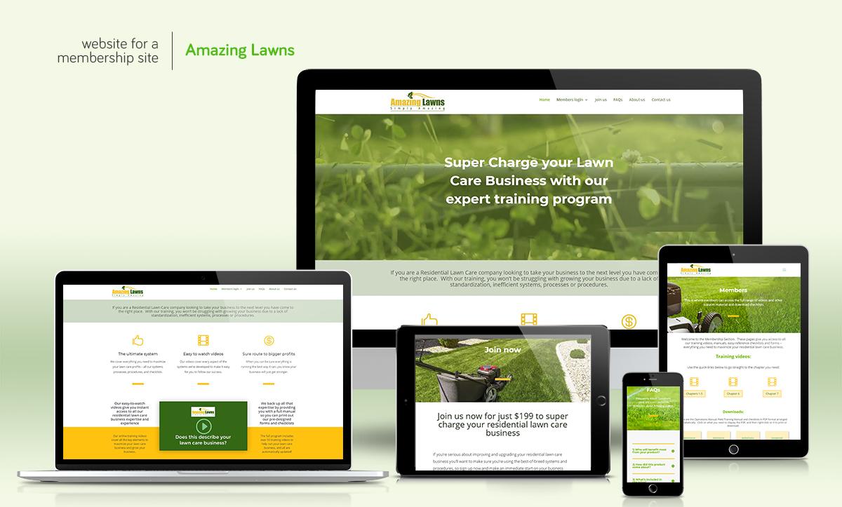Web Design Brand Profile Design